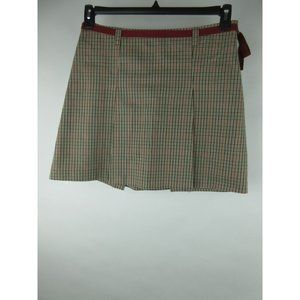 Old Navy Multi Color Cotton Plaid A-Line Skirt